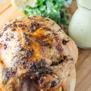 Roasted Chicken with Fresh Herbs