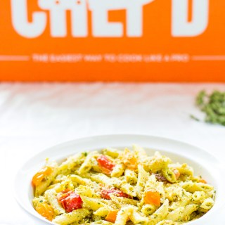 Catz Review: Chef'd Pistachio Pesto And Cherry Tomato Penne