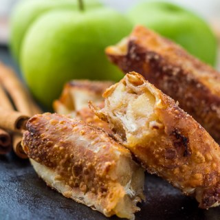 Healthy Apple Pie Egg Rolls