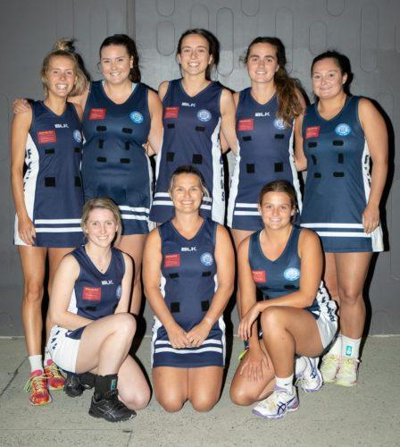 cga netball team - team photo
