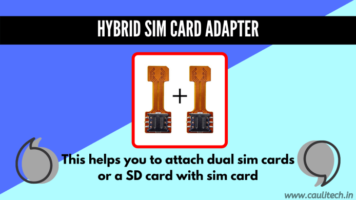 hybrid sim card adapter