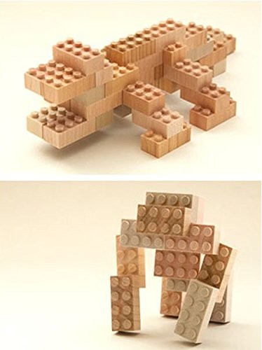 Mokulock Wooden Building Blocks