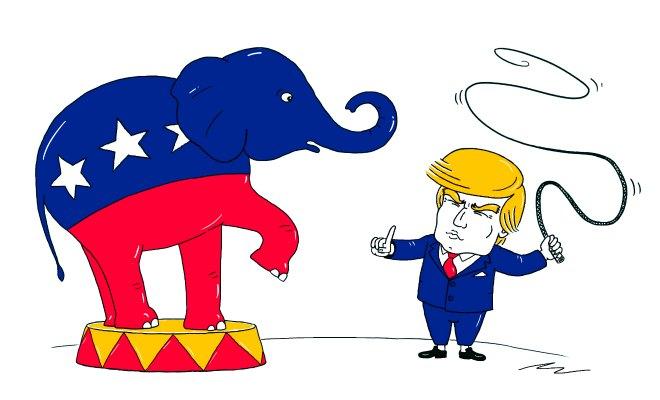 donald trump parti republicain
