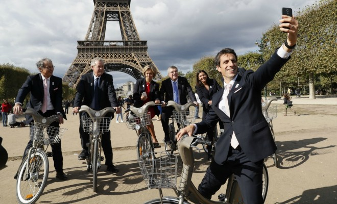 vélo transport en commun Paris bobo