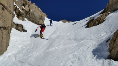Preparación recorridos esquí montaña CX16