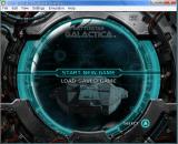 Battlestar Galactica - menu 3