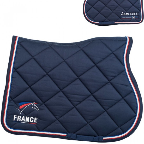 tapis de selle france mixte de lami cell