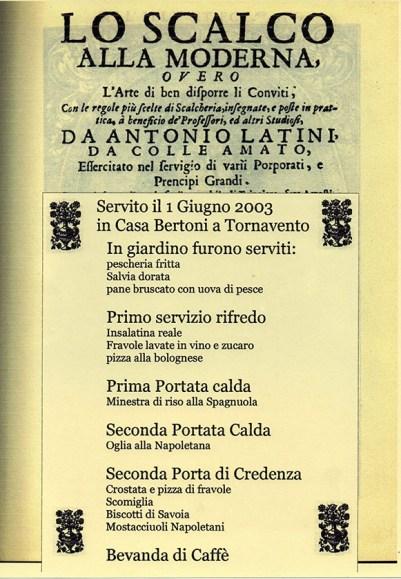 menu latini 142