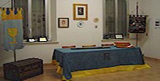 Particolare della Sede dei Cavalieri del Fiume Azzurro a Tornavento