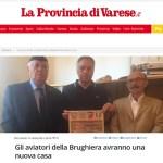 Del cippo ne parlano su La Provincia di Varese