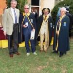 Giorgio Macchi e Bertoni Giassi ricevono la medaglia commemorativa