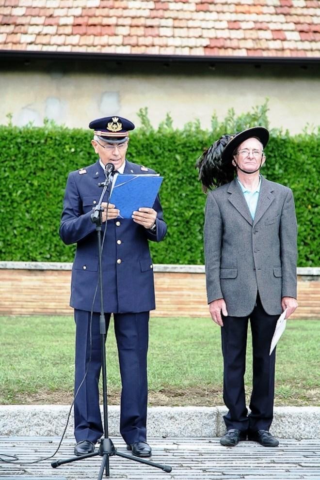 Speaker della commemorazione