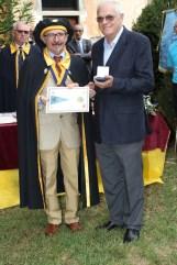 Bertoni e Blini consegna medaglia