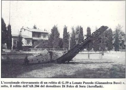 Fiat G-59 originale