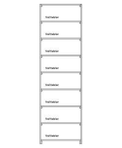 CaveauStar Weinregal CS-Basic-05 - Technische Skizze