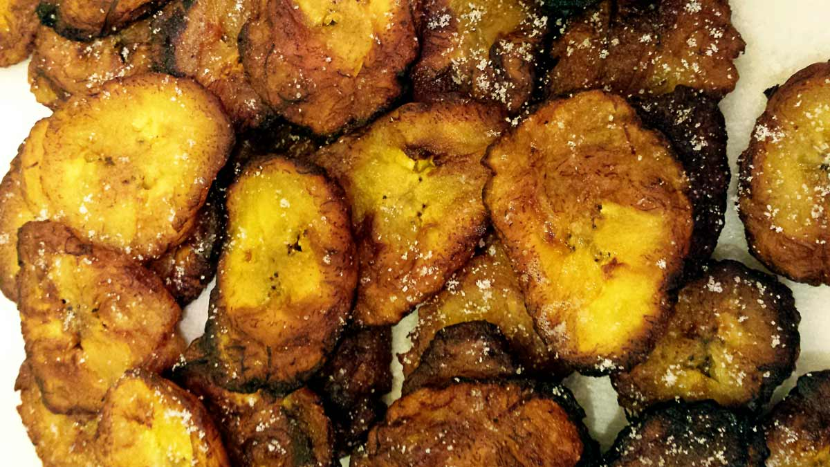 Tostones (a.k.a. a little Latin heaven)