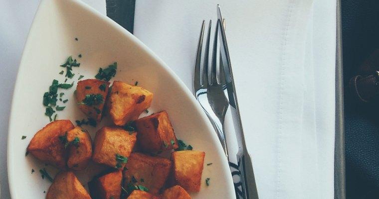 Roasted Cardamom Sweet Potatoes