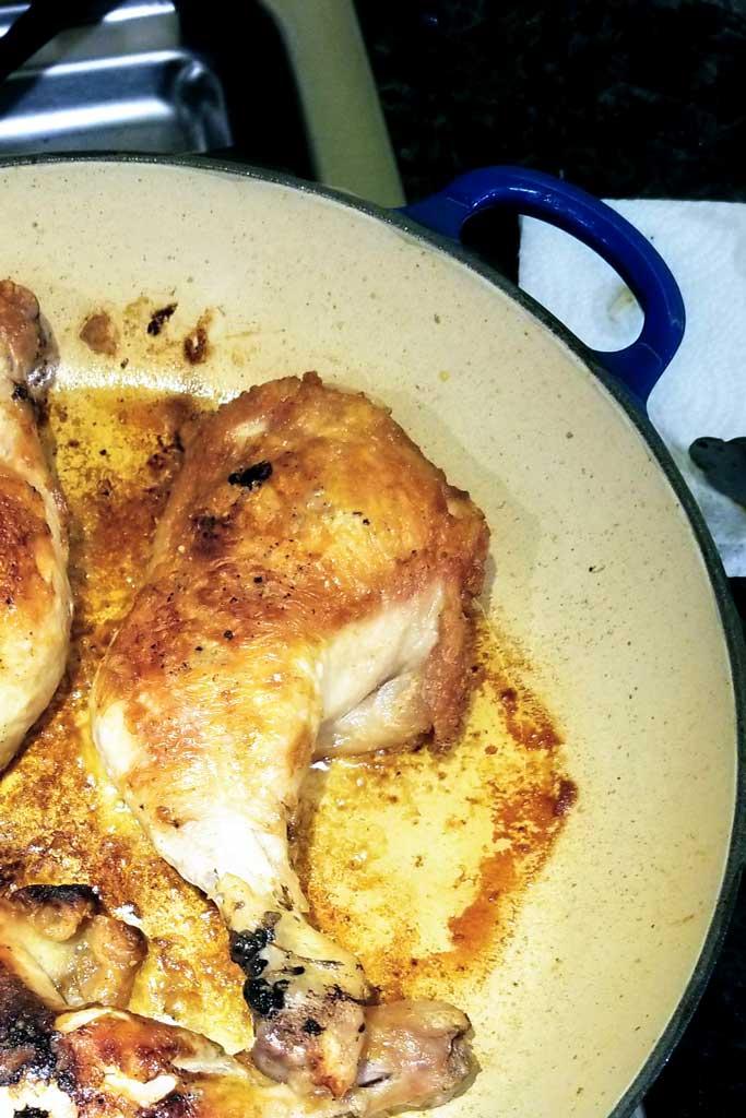 Skillet-Fried Chicken Thighs