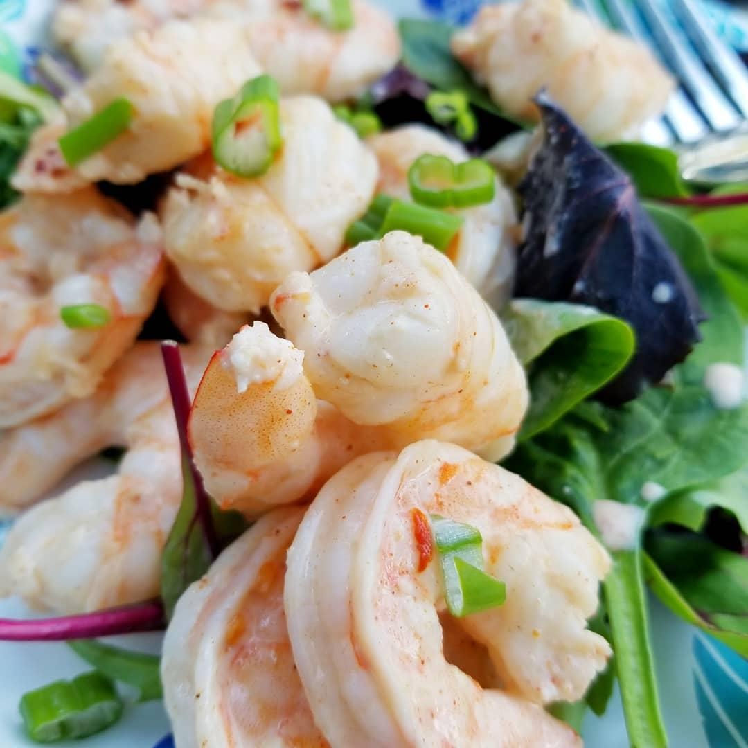 Creamy Thai Spice Shrimp