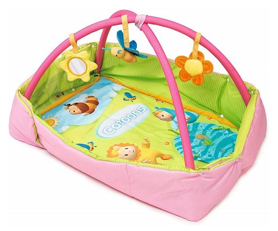 tapis aire d eveil bebe 2 en 1 cotoons
