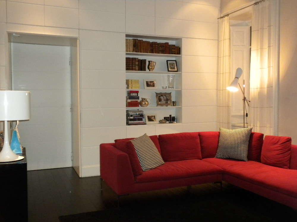 Riqualificazione interna appartamento, zona salone