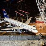 VÍDEO em câmera lenta: Retirando o A320 da US Airways do Rio Hudson