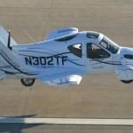 Novo design para o carro voador Terrafugia