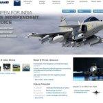 Saab cria site especial para o Gripen IN, oferecido para Índia