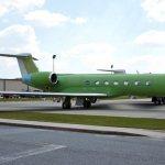 Gulfstream apresenta o 300° jato G550 após ficar pronto na linha de montagem