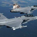 Esquadrão de caças Gripen da Força Aérea Tcheca deixa sua marca no NATO Tiger Meet 2010