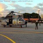 IMAGEM DA SEMANA: Super Puma e Black Hawk juntos na CRUZEX V