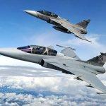 F-X2: Saab sai na frente em disputa por caças