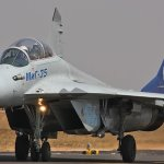 Caça MiG-35 irá para o Aero India, mas não será apresentado em voo