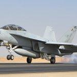 Acidente com caça F/A-18F Super Hornet nos EUA