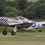 "Acidente com o Mustang ""Big Beautiful Doll"" durante o Duxford Flying Legends"