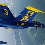 IMAGEM: Blue Angels treinam em Pensacola