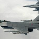Caças F-16 holandeses interceptam bombardeiros russos Tu-95 Bears