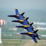 Jatos F/A-18 dos Blue Angels vão voar com biocombustível
