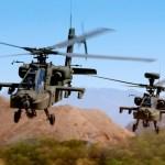 Exército dos EUA vai receber mais dois helicópteros Apache para substituição de perdas em combate