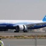 Boeing 787 Dreamliner chega para o Dubai Airshow 2011