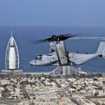 Bell e Boeing relatam interesse internacional pela aeronave V-22 Osprey durante o Dubai Airshow