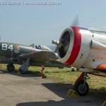 IMAGENS: Visita ao MUSAL, com direito a acionamento de P-47 e T-6 e uma olhadinha no Jaguar