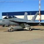 IMAGENS: Caças F/A-18F Super Hornets para festa do EDA chegam em Brasília