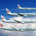 Air China adquire 31 aeronaves comerciais da Boeing