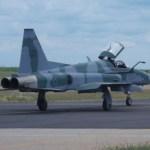 FAB recebe último F-5EM modernizado do primeiro lote