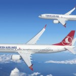 Turkish Airlines se compromete a adquirir até 95 aeronaves Boeing 737