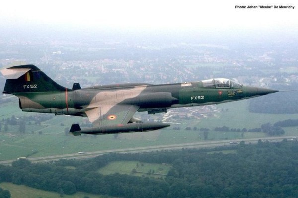 F 104 2 600x399 - CAÇAS CENTURY: Lockheed F-104 Starfighter