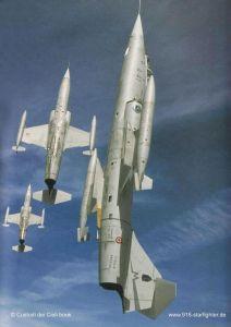 F 104 4 212x300 - CAÇAS CENTURY: Lockheed F-104 Starfighter
