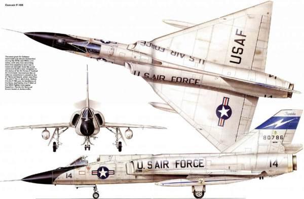 F-106_delta dart 3 view