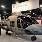 Agusta Westland apresenta o helicóptero AW169 AAS em evento do Exército dos EUA